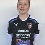 Kaisla Karppinen U19 maajoukkueleirille