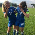 Pallokissat vahvasti esillä U16-tyttöjen maajoukkueessa