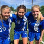 Viivi Kortelainen U17-maajoukkueessa