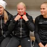 Pallokissoja U16-maajoukkueeseen